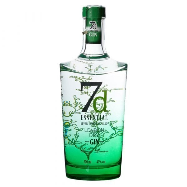 7d ESSENTIAL LONDON DRY GIN CL 70